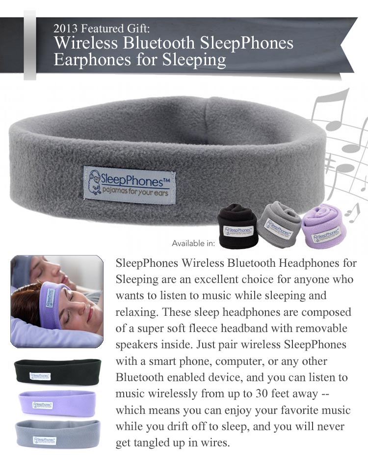 Wireless SleepPhones Bluetooth Earphones for Sleeping