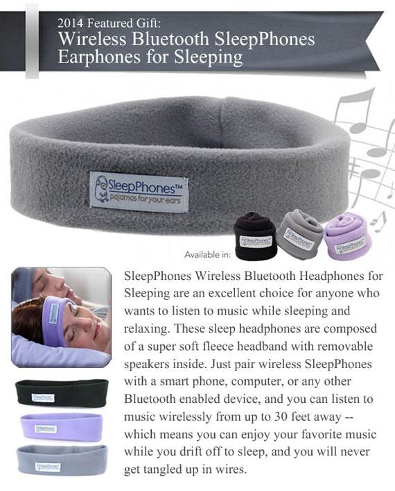 Wireless SleepPhones Bluetooth Earphones for Sleeping