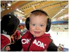 Gavin at the Vancouver Winter Olympics! courtesy of Megan of Conifer, CO