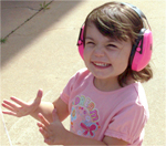 Destiny, 2 Years Old, Wearing Child Ear Muffs