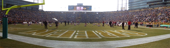 Lambeau Field, hope of the Green Bay Packers
