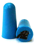 Panthers NFL Ear Plugs
