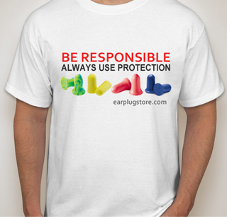 Be Responsible - Always Use Protection T-Shirt from EPSS