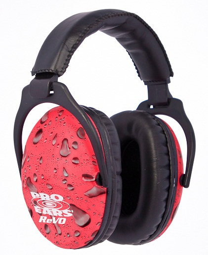 Pink Rain ReVO Child Ear Muffs